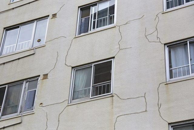 外壁のクラック・イメージ