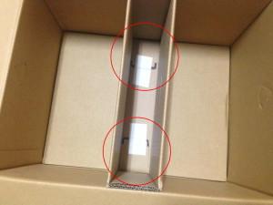 ベロをファイルボックスの底面に貼り付ける