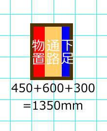 シューズクローゼットの間口は1500mmが基本