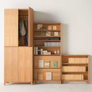 無印良品・組み合わせて使える木製収納
