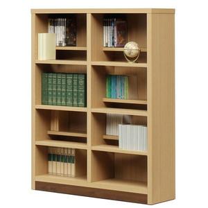 本棚 書棚 収納家具 完成品 段違い 幅90cm