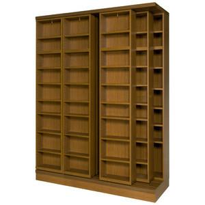 スライド書棚 本棚 書院 3LSH-180