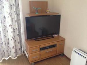 我が家のリビングのTVボード