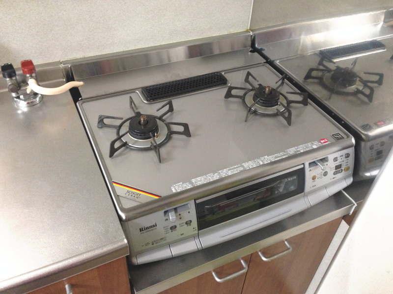 我が家のキッチンのガスコンロ・after