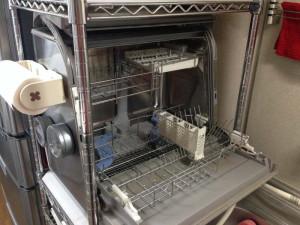 ナショナル・食器洗い乾燥機 NP-50SX3内部