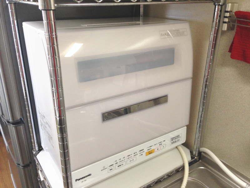 パナソニック 食器洗い乾燥機 NP-TR8-W 設置完了