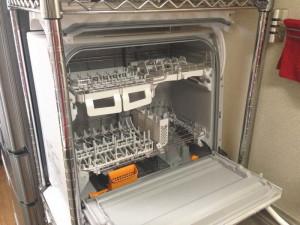 パナソニック 食器洗い乾燥機 NP-TR8-Wの内部