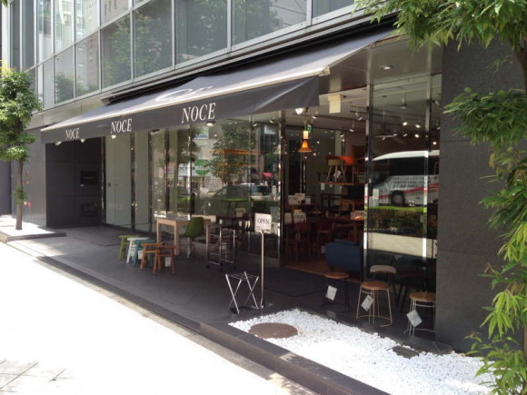 NOCE(ノーチェ)・大阪・堀江店の外観
