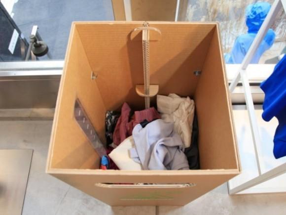 グリーンサイクルの回収ボックス
