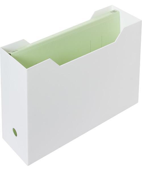 ニトリ・A4ファイルケース(オールホワイト)