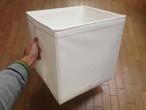 IKEAのSKUBBボックスは持ち手が付いているので便利