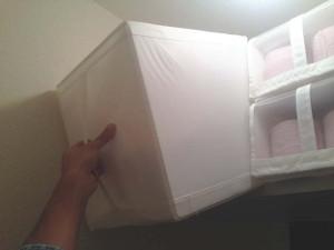 IKEAのSKUBBボックスならトイレットペーパーを取り出しやすい