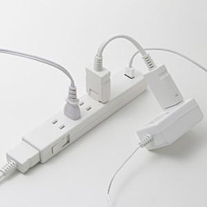 無印良品・ジョイントタップ・ロック付・コンセント4個口/USBポート1個口 型番:MJ-JT10A