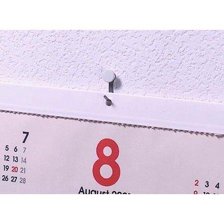 東洋工芸「かけまくり」でカレンダーを壁に掛ける