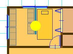 部屋を仕切ってウォークインクローゼットを作る場合に生じる問題