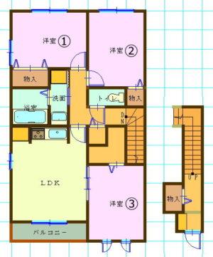ダイワハウスD-room・3LDK神奈川県大和市