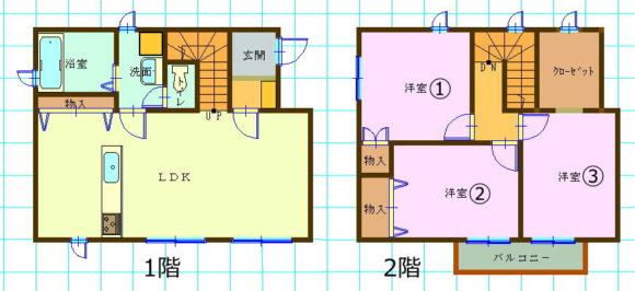新築一戸建て賃貸・3LDK・茨城県水戸市