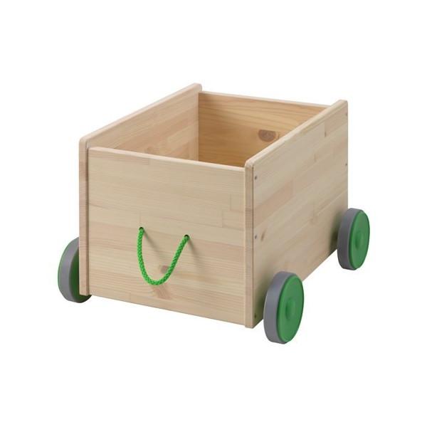 FLISAT (フリサット)おもちゃ収納 キャスター付き