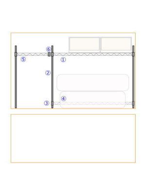 ルミナスラックを使って一間幅の押入れにピッタリサイズのラックを設置する方法
