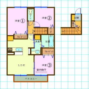 ダイワハウス・D-room・3LDK福岡県福岡市西区