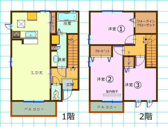 ダイワハウス・D-room・3LDK広島市安佐南区