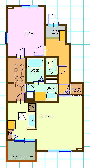大東建託の賃貸集合住宅・1LDK・愛知県西尾市