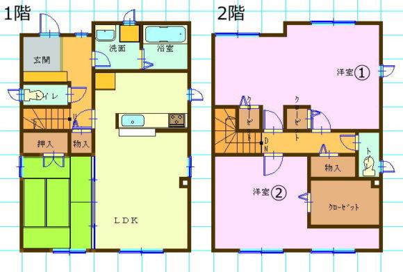 一戸建て賃貸・3LDK・青森県青森市