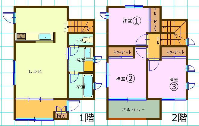 一戸建て賃貸(3LDK/群馬県前橋市)