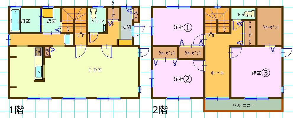 一戸建て賃貸・3LDK・岩手県盛岡市