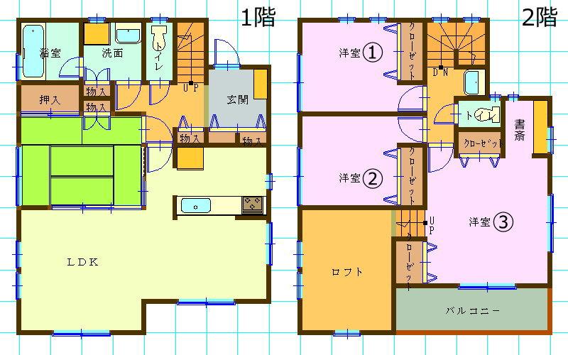 一戸建て分譲住宅・ロフト付き4LDK・神奈川県横浜市