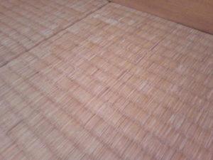 傷んできた我が家の和室の畳
