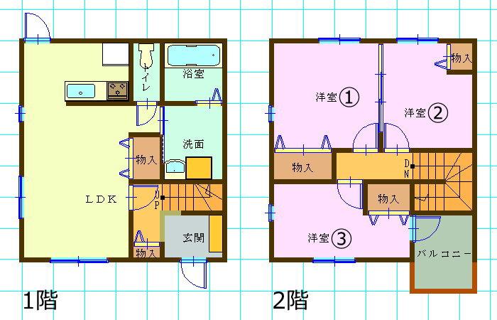 一戸建て賃貸(3LDK/大分県大分市)