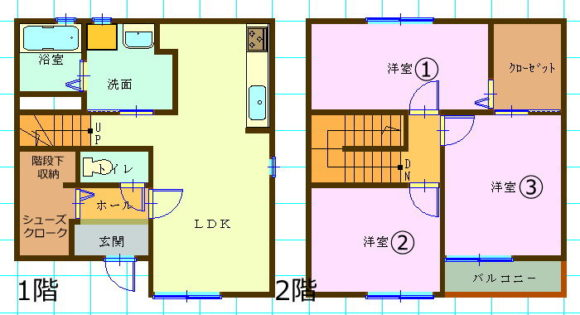 一戸建て賃貸(3SLDK/香川県高松市)