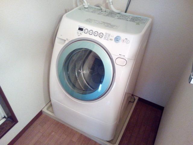 今まで使っていたパナソニックのドラム式洗濯乾燥機 NA-V80