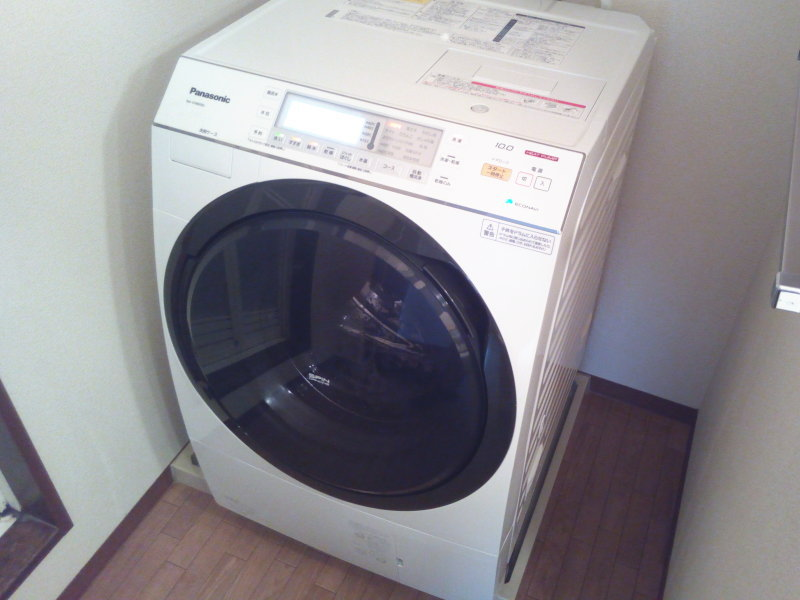 パナソニック・ドラム式洗濯乾燥機NA-VX8600