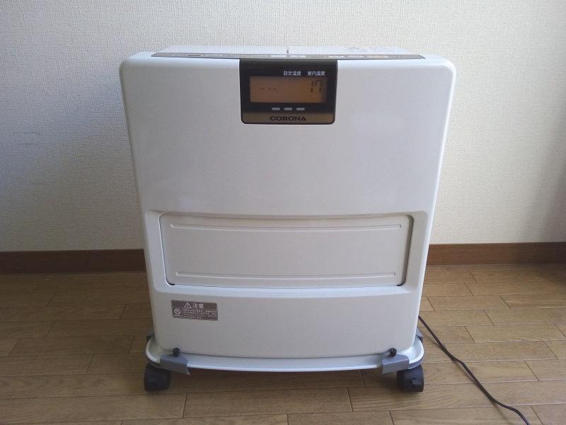 コロナ・石油ファンヒーターFH-VX3616BY-W