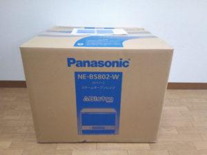 パナソニック・スチームオーブンレンジNE-BS802-W