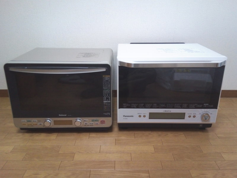 NE-J630(左)とNE-BS802(右)を並べてみた