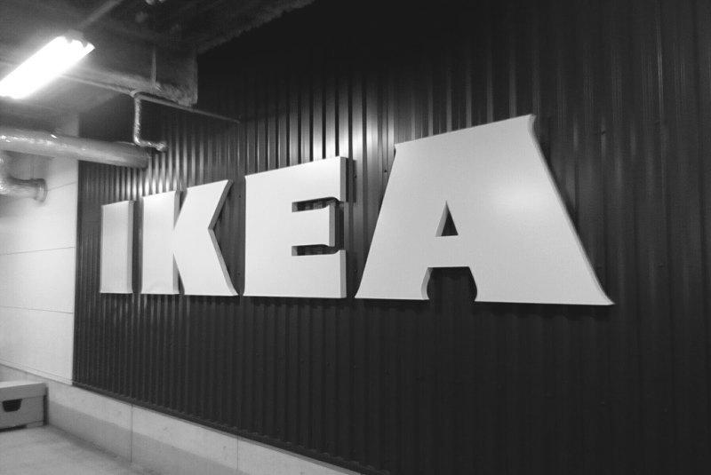 IKEAのロゴ