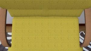 シマホARで画面いっぱいに現れたソファ