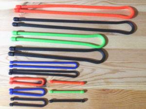 全12本の長さと色の組み合わせ