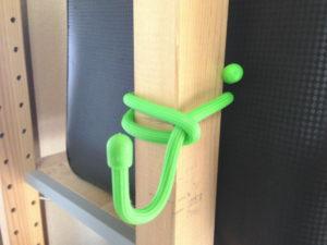 IKEAのIVARにギアータイを取り付けてフックに