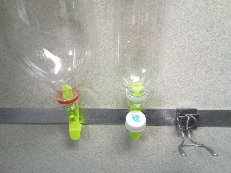イノマタ化学×収納マンのペットボトル水切りが完成!