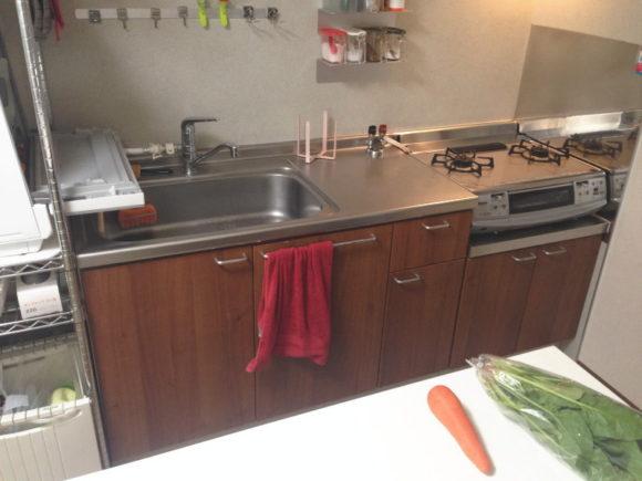 我が家のキッチン