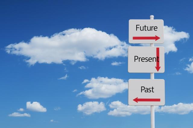 過去・現在・未来、イメージ