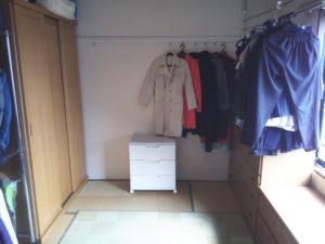 我が家の衣裳部屋 before