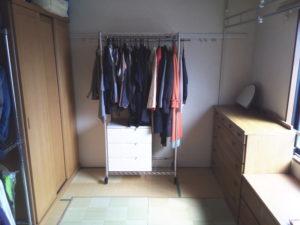 我が家の衣裳部屋 after