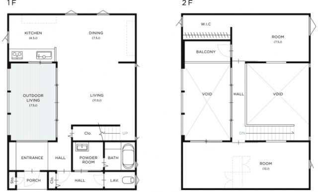 「HOUSE CANVAS by IDÉE」間取り一例