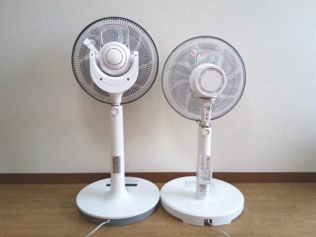 (左)HEF-DC4000(右)HEF-DC300の比較