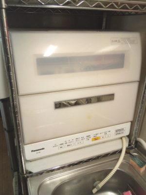 パナソニック・食器洗い乾燥機NP-TR8-W